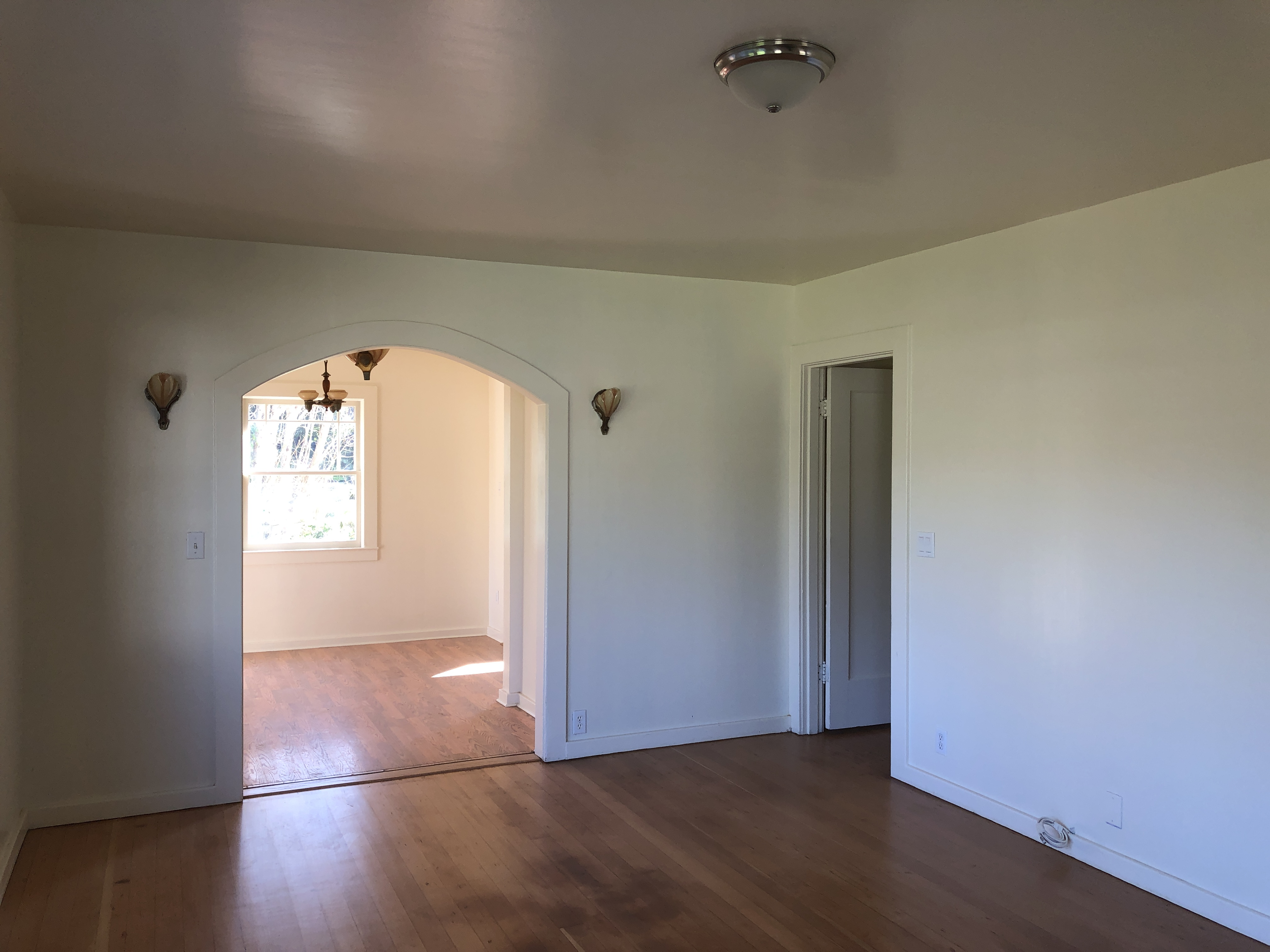 Looking from Living Room to Dining Room