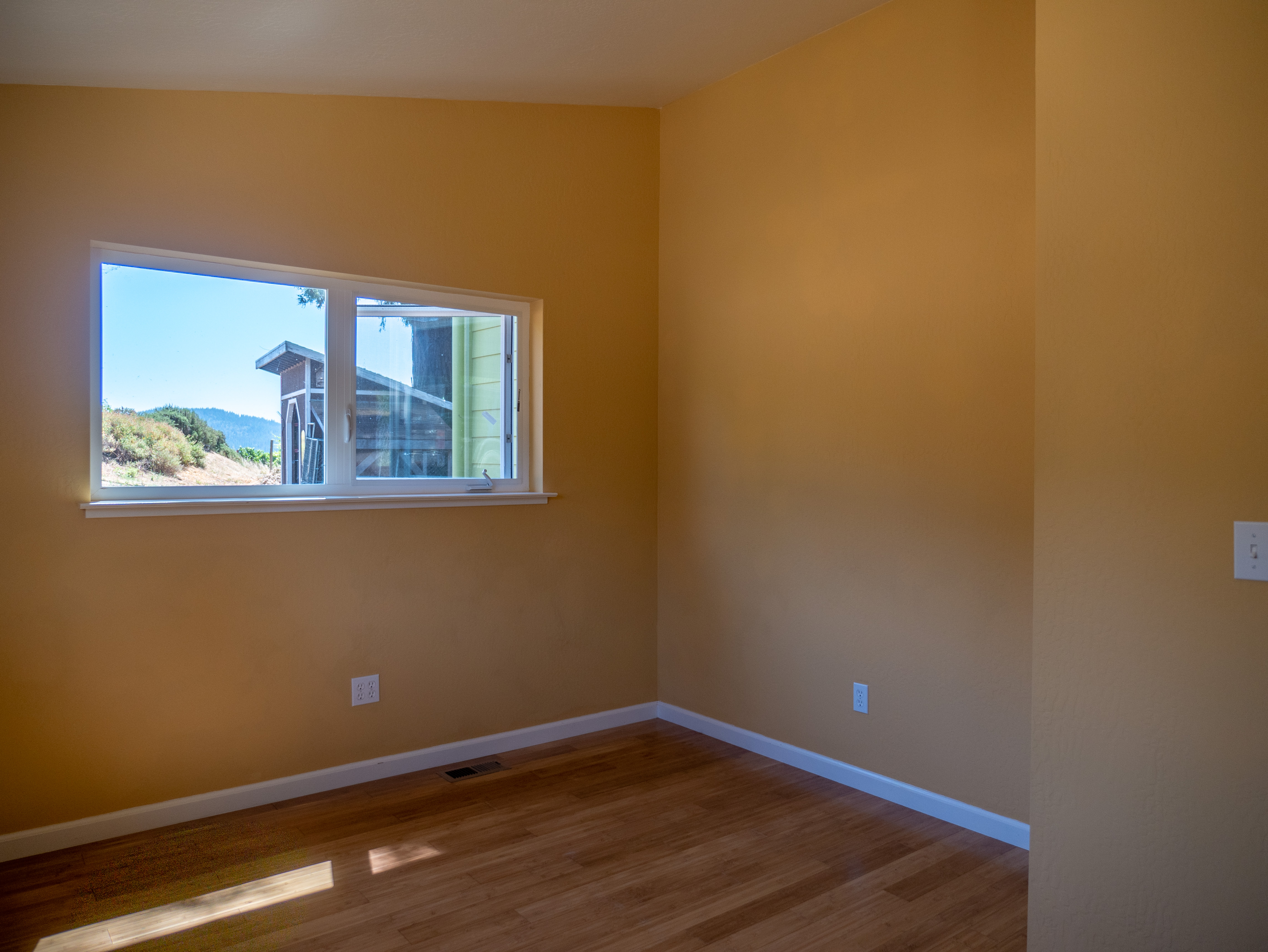 A large master suite, large second bedroom and office provide plenty of space for family and friends